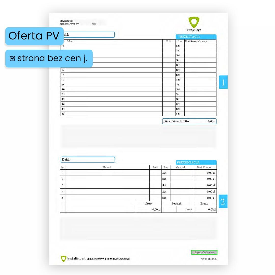 Program do ofertowania instalacji PV