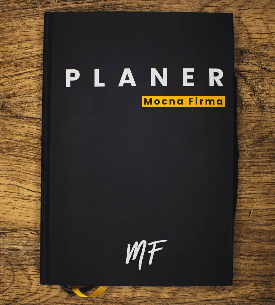 Planer Mocna Firma Okładka przód