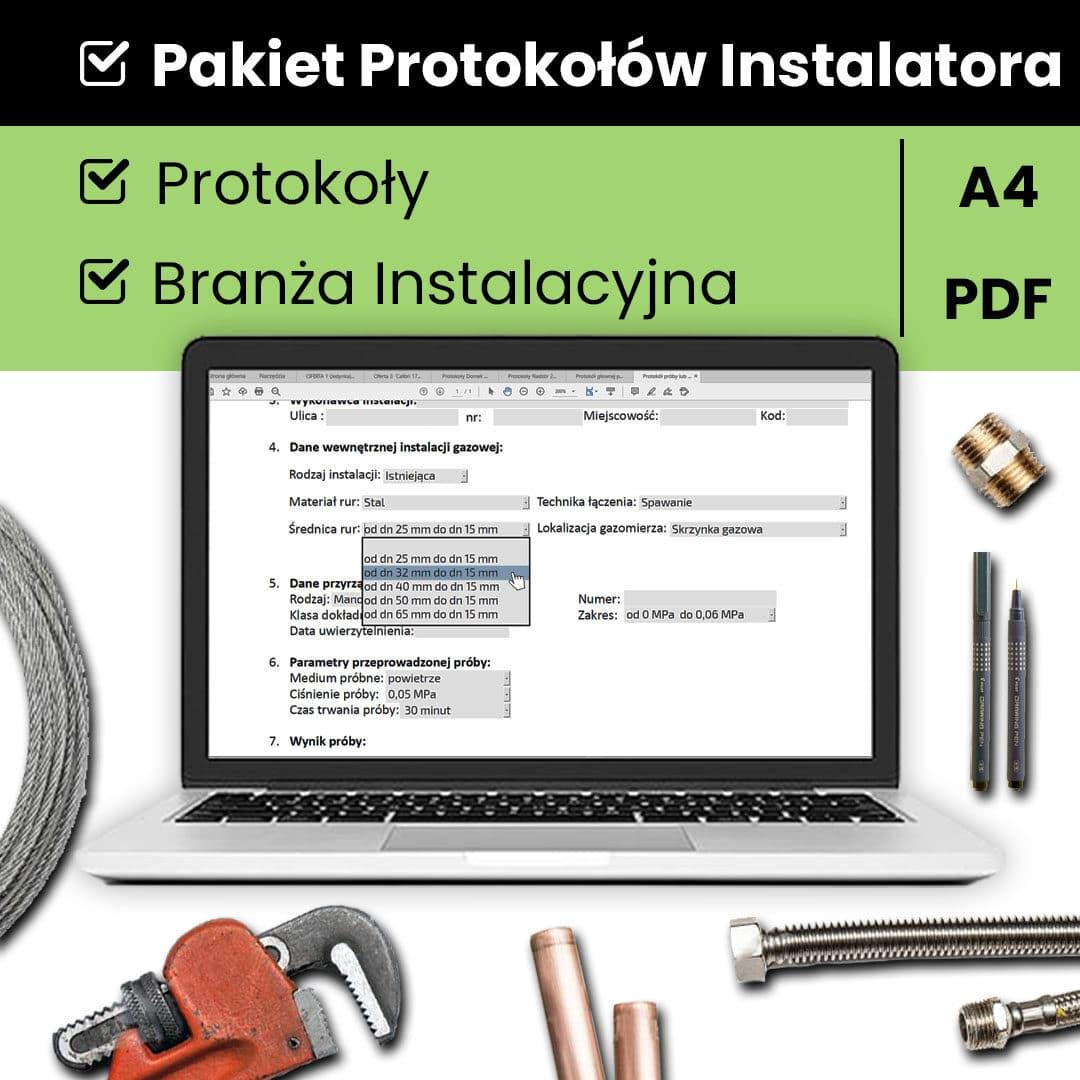 Pakiet protokołów Instalatora