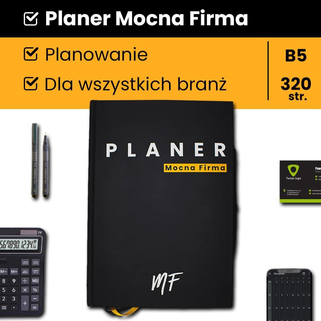 Planer dla firm  – Mocna Firma