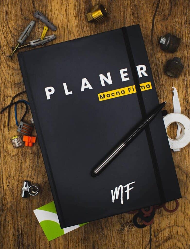 Mocna Firma Planer Firm Usługowych